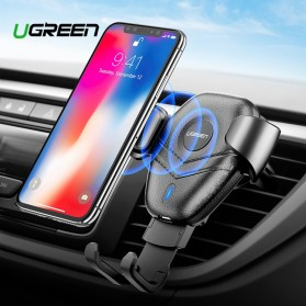 UGREEN Car Holder Qi Wireless Charger - ED014 - Black
