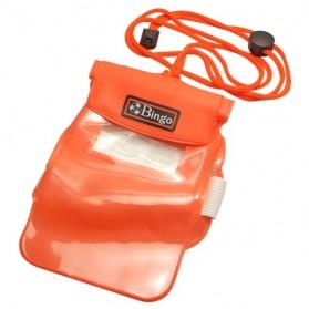 Waterproof Case Bag - Bingo Waterproof Bag for Smartphone 4.0 Inch - WP06-4 - WP06-6 - Orange