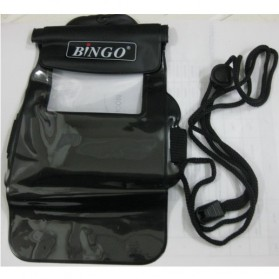 Bingo Waterproof Bag for Smartphone 5.0 Inch - WP06-11 - Black