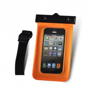 Bingo Waterproof Bag for Smartphone 4.8 Inch - WP06130 - WP06134 - Orange