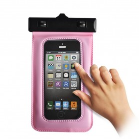 Waterproof Case Bag - Bingo Waterproof Bag for Smartphone 4.8 Inch - WP06130 - WP06134 - Pink