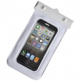 Waterproof Case Bag - Bingo Waterproof Bag for Smartphone 4.8 Inch - WP06130 - WP06134 - White