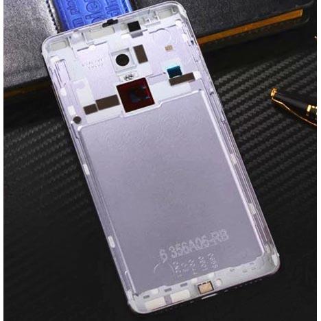 ... Case Baterai Belakang Xiaomi Redmi Note 4 Pro Mediatek (ORIGINAL) - Silver - 2 ...