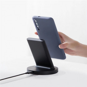 Xiaomi Vertical Wireless Charger with Flash Charging Qi Horizontal 20W - WPC02ZM - Black - 3