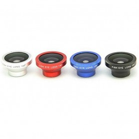 Lesung Magnetic Fisheye Lens 180 Degree - LX-M001 - Red