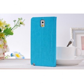 SULADA Smart Cover Classic Series for Samsung Galaxy Note 3 - Blue