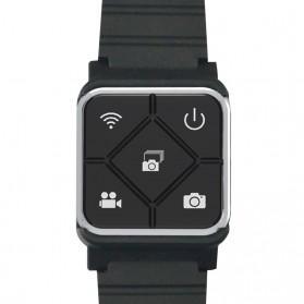 Tomsis Tombol Narsis - SJCAM Wireless Remote Control Bluetooth Watch for SJCAM M20 - Black