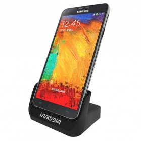 IMobi4 Desktop Charging Dock for Samsung Galaxy Note 3 - Black