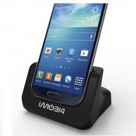 IMobi4 Desktop Charging Dock for Samsung Galaxy S5 - Black - 2
