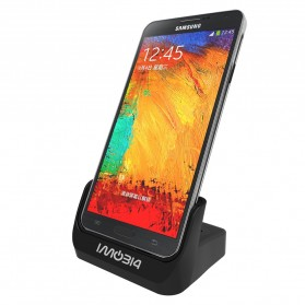 IMobi4 Desktop Dual Charging Dock for Samsung Galaxy Note 3 - Black