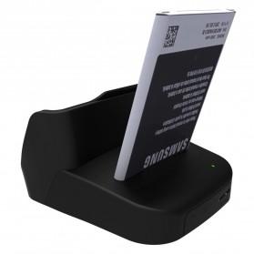 IMobi4 Desktop Dual Charging Dock for Samsung Galaxy Note 3 - Black - 2