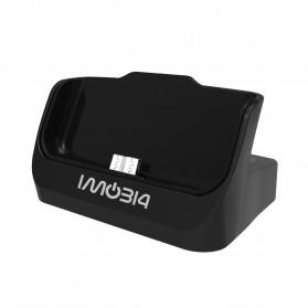 IMobi4 Desktop Dual Charging Dock for Samsung Galaxy Note 3 - Black - 4