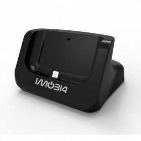 IMobi4 Desktop Dual Charging Dock for Samsung Galaxy S5 - Black - 7