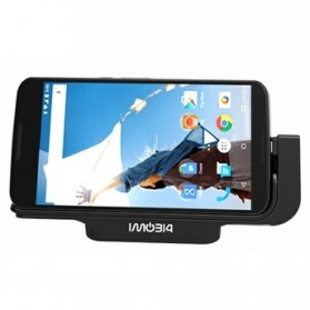 IMobi4 Horizontal Desktop Charging Dock for Google Nexus 6 - Black - 1