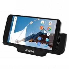 IMobi4 Horizontal Desktop Charging Dock for Google Nexus 6 - Black - 3