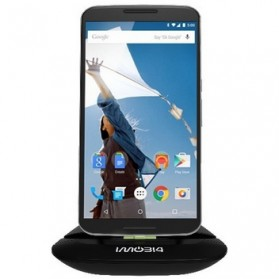 IMobi4 Desktop Charging Dock for HTC / Motorola Nexus 6 - Black - 1