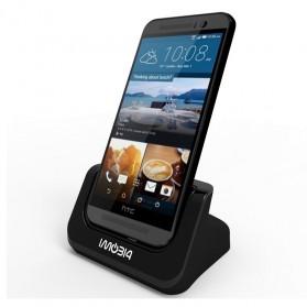 IMobi4 Desktop Charging Dock for HTC One M9 - Black - 1