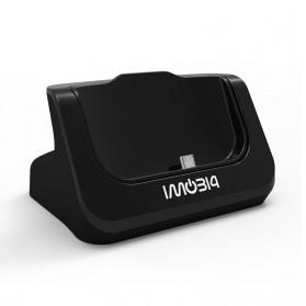 IMobi4 Desktop Charging Dock for HTC One M9 - Black - 2