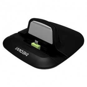 IMobi4 Desktop Charging Dock for Samsung Motorola Nokia - Black - 3