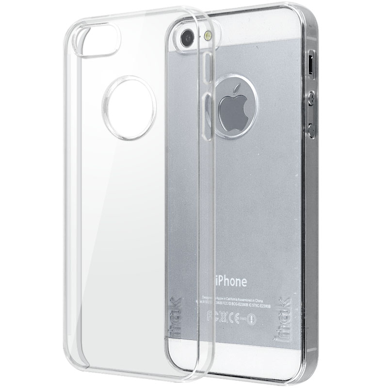 new concept ddaea 29b1c Imak Crystal 1 Ultra Thin Hard Case for iPhone 5/5s/SE - Transparent