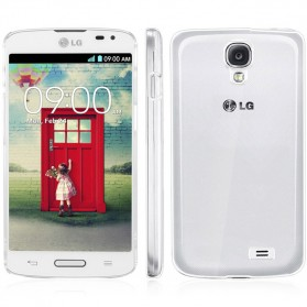 Imak Crystal 1 Ultra Thin Hard Case for LG F70 D315 - Transparent - 5