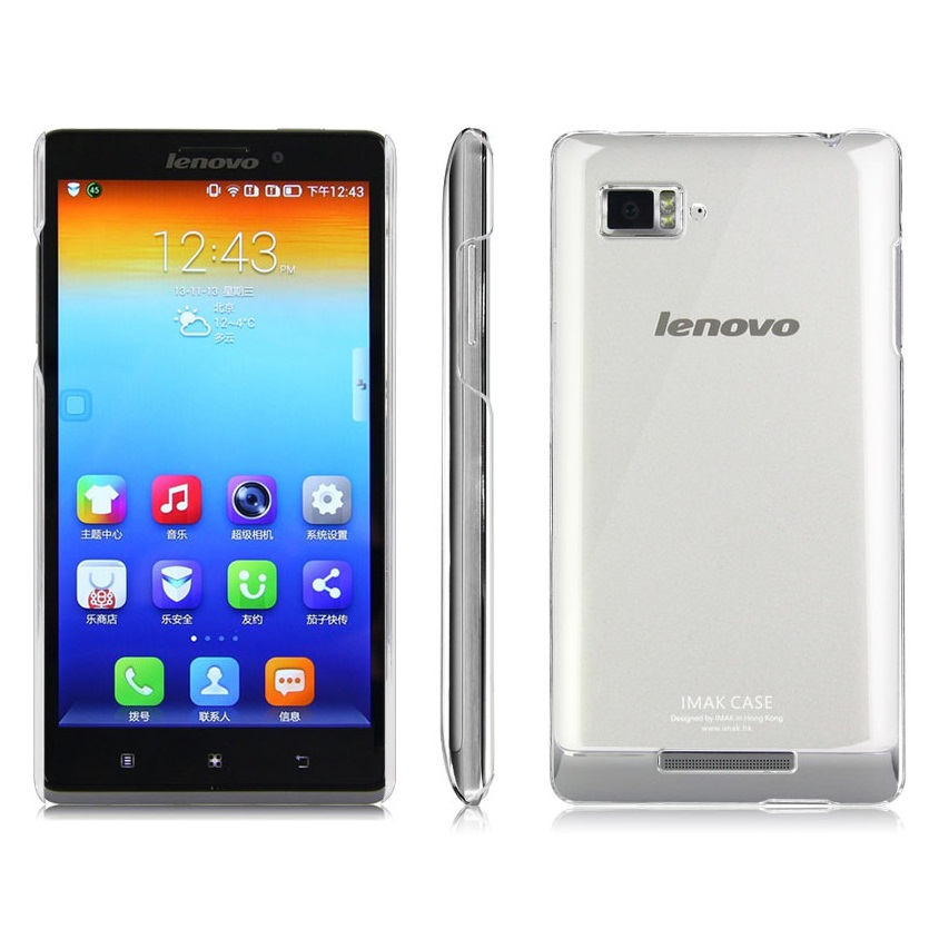 Imak Crystal 1 Ultra Thin Hard Case For Lenovo Vibe Z K910
