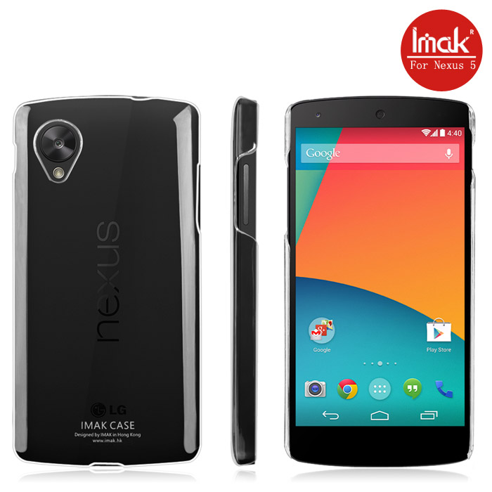 hot sale online e8e9a 8fea9 Imak Crystal 2 Ultra Thin Hard Case for LG Nexus 5 - Transparent