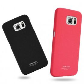 Imak Cowboy Quicksand Ultra Thin Hard Case for Samsung Galaxy S6 - Red - 2