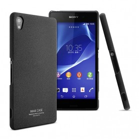 Imak Cowboy Quicksand Ultra Thin Hard Case for Sony Xperia Z3 - Black