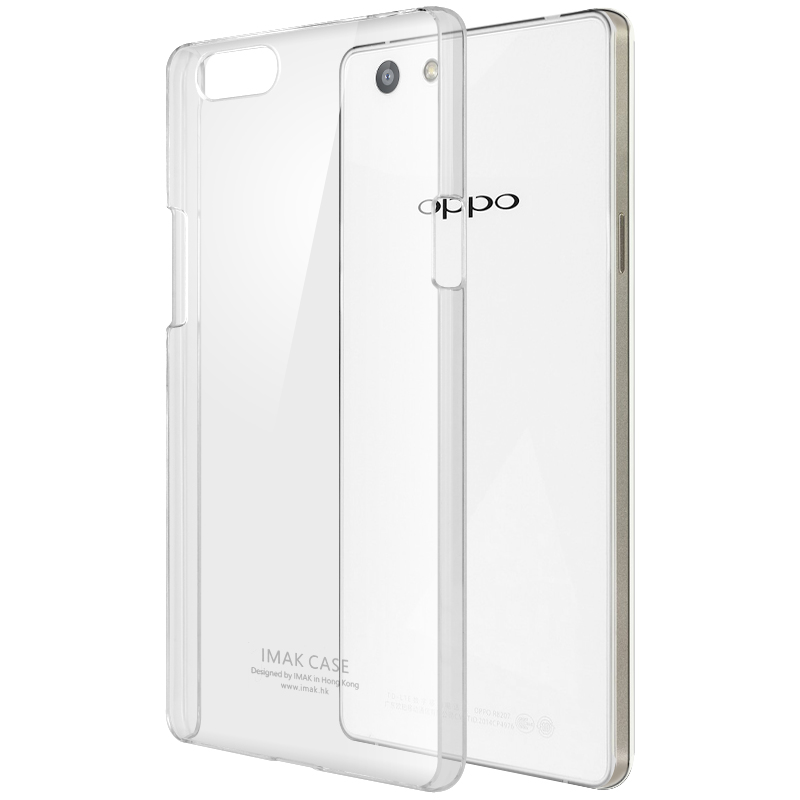Imak Crystal 2 Ultra Thin Hard Case for Oppo R8207 - Transparent - JakartaNotebook.com