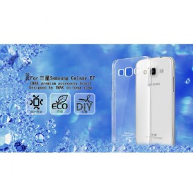 Imak Crystal 2 Ultra Thin Hard Case for Samsung Galaxy E7 - Transparent - 4
