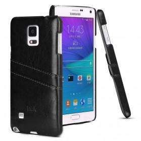 Imak Wisdom Luxury Genuine Leather Case for Samsung Galaxy Note 4 N9100 - Black
