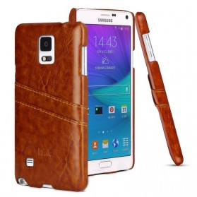 Imak Wisdom Luxury Genuine Leather Case for Samsung Galaxy Note 4 N9100 - Brown