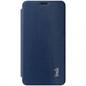 Imak Flip Leather Cover Case Series for Asus Zenfone 2 5.5 Inch - Blue