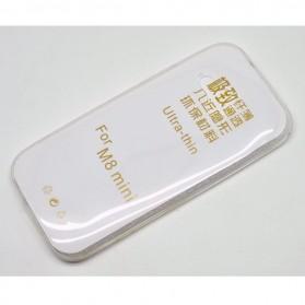 Imak Ultra Thin TPU Case for HTC M8 Mini - Transparent
