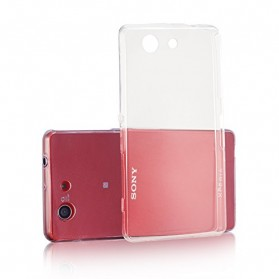 Imak Ultra Thin TPU Case for Sony Xperia Z3 Mini - Transparent