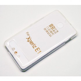 Imak Ultra Thin TPU Case for Sony E1 - Transparent