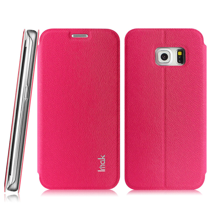 imak flip leather cover case series for samsung galaxy s6. Black Bedroom Furniture Sets. Home Design Ideas