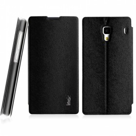 Imak Flip Leather Cover Case Series for Xiaomi Redmi 1s - Black