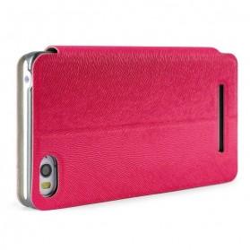 Imak Flip Leather Cover Case Series for Xiaomi Mi4i / Mi4c - Red