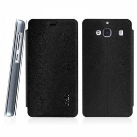 Imak Flip Leather Cover Case Series for Xiaomi Redmi 2 / Redmi 2 Prime - Black