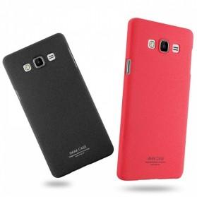 Imak Cowboy Quicksand Ultra Thin Hard Case for Samsung Galaxy A7 2015 - Black - 4