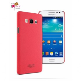 Imak Cowboy Quicksand Ultra Thin Hard Case for Samsung Galaxy A7 2015 - Red