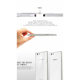 Imak Crystal 2 Ultra Thin Hard Case for OPPO R1C R8207 - Transparent - 7