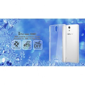 Imak Crystal 2 Ultra Thin Hard Case for OPPO R3007 - Transparent - 3