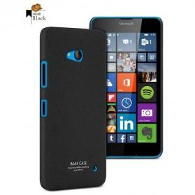 Imak Cowboy Quicksand Ultra Thin Hard Case for Microsoft Nokia Lumia 640 - Black