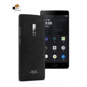 Imak Cowboy Quicksand Ultra Thin Hard Case for OnePlus Two - Black - 1