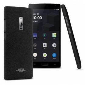 Imak Cowboy Quicksand Ultra Thin Hard Case for OnePlus Two - Black - 2