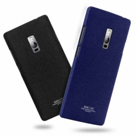 Imak Cowboy Quicksand Ultra Thin Hard Case for OnePlus Two - Black - 5
