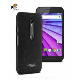 Imak Cowboy Quicksand Ultra Thin Hardcase for Moto G3 - Black